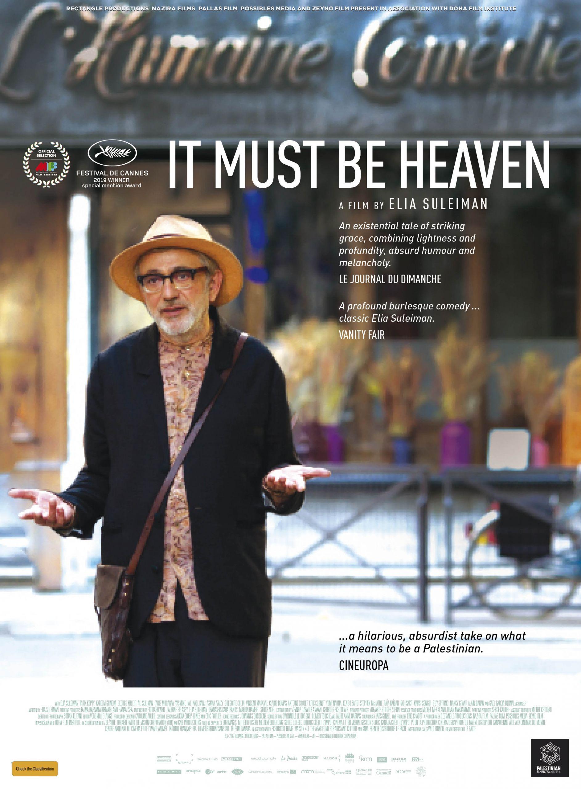 It Must Be Heaven (M -AU) (PG -NZ)