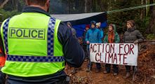Still from Wild Things: A Year on the Frontline of Environmental Activism